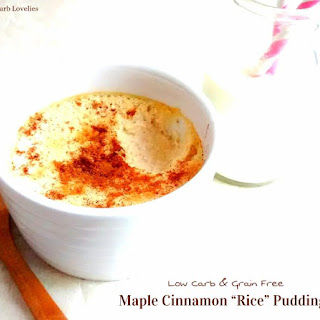 "Maple Cinnamon ""Rice"" Pudding"