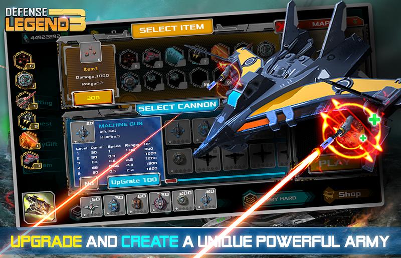 Defense Legend 3: Future War Screenshot 5