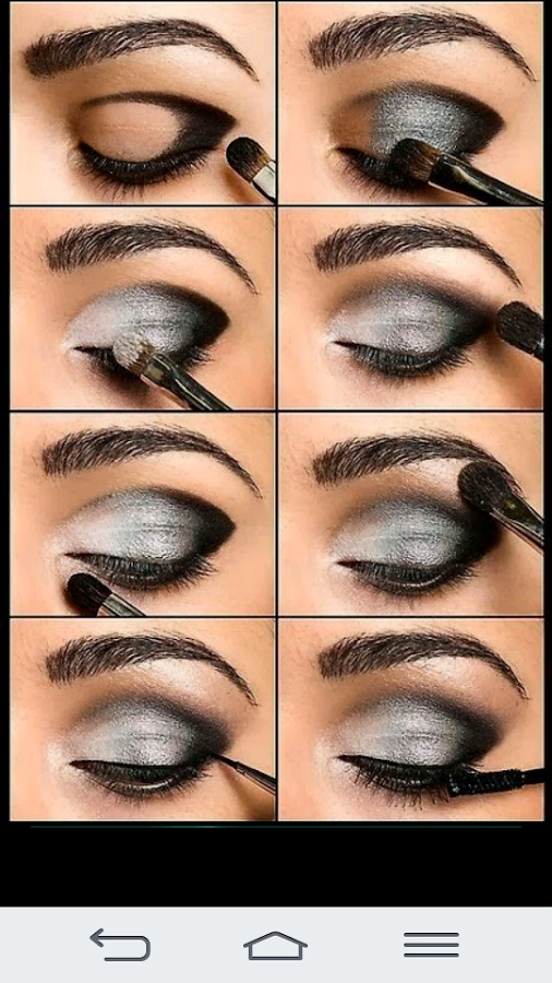 Bridal Eye Makeup 2017 Step By Step : Eyes make up 2017 - Android Apps on Google Play