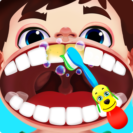 Jogo de dentista louco - Miúdos doutor
