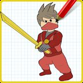 App How to Draw Kai Red NinjaGo APK for Windows Phone
