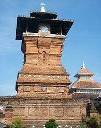 Hasil gambar untuk menara masjid menara kudus