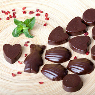 Chocolate Carob candies without sugar