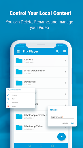 FlixPlayer for Android 2.2.5 screenshots n 2
