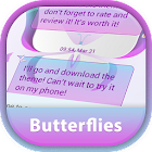 GO SMS Butterflies Theme icon