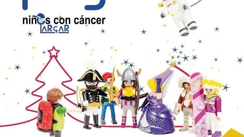 Cartel de la Exposición Playmobil de la Asociación ARGAR.