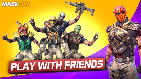 MaskGun Multiplayer FPS – Free Shooting Game 4