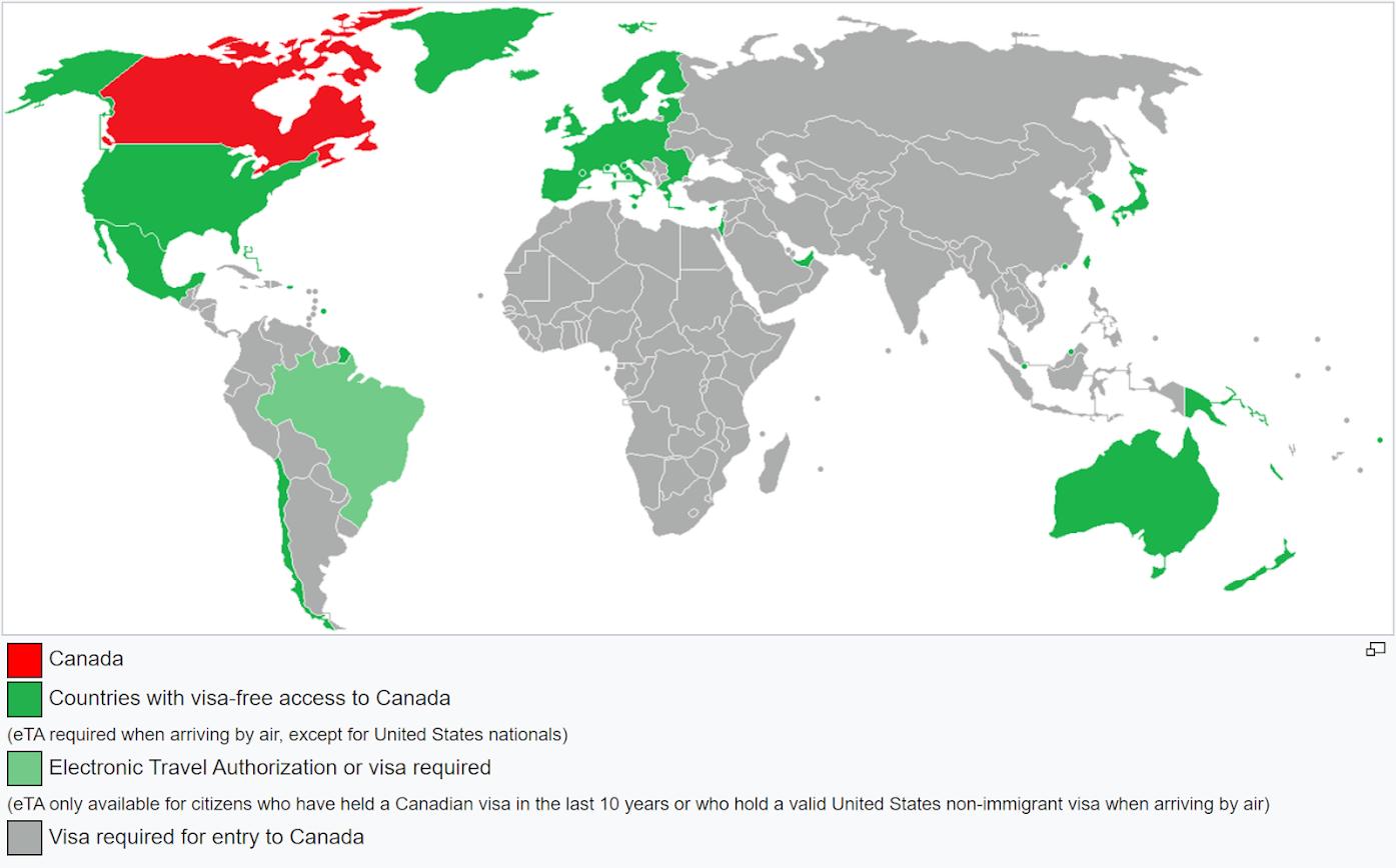 consejos para viajar a Canadá