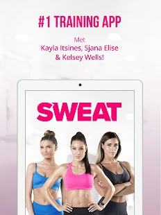 Sweat: Kayla Itsines fitness: miniatuur van screenshot