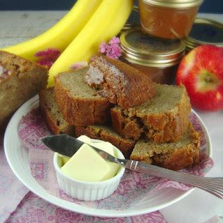 Apple Butter Banana Bread.
