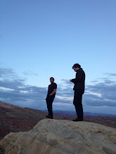 Photo: Ryan and Colin on the mountain