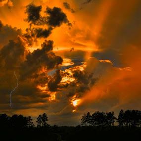 by Stacy Knighton - Landscapes Sunsets & Sunrises