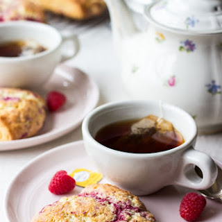 Raspberry Lemon Scones.