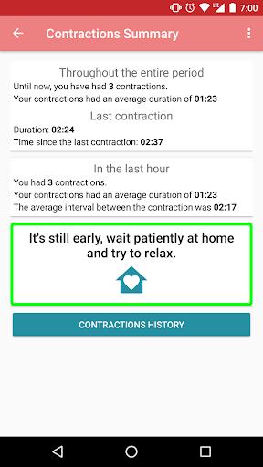 Contraction timer 1.2.1 Screenshots 4