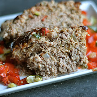 Roasted Vegetable Meatloaf with Quinoa- Gluten Free