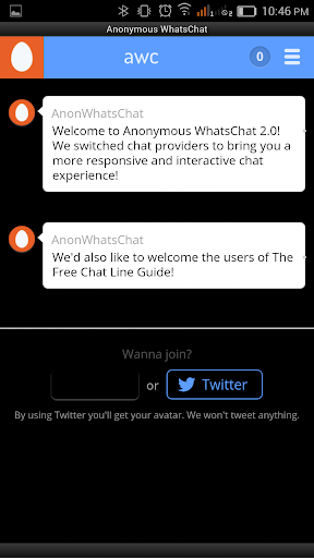 Anonymous WhatsChat Ad Free