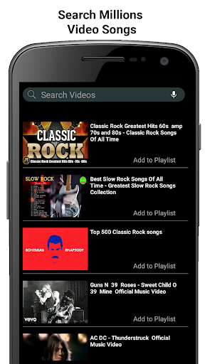 BV-Player - Music, Videos  and Songs screenshots 3