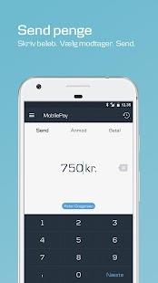 MobilePay - náhled