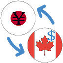 Japanese yen to Canadian dollar currency converter APK