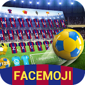 Football Royal Keyboard Theme for Soccer Fans