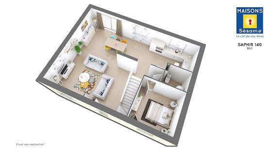 Vente terrain à bâtir 490 m2
