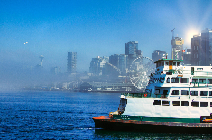 Water Taxi Ride in Seattle