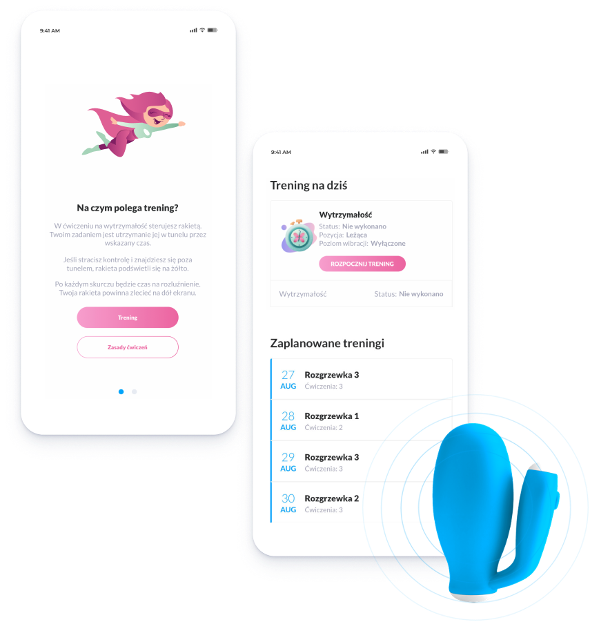 PelviFly healthcare mobile app