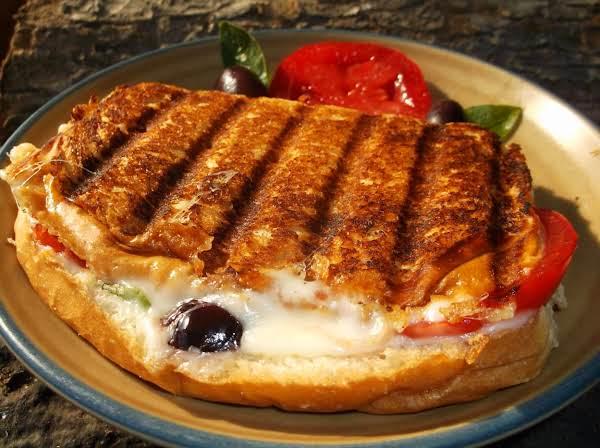 Delicious Grilled Caprese Sandwich