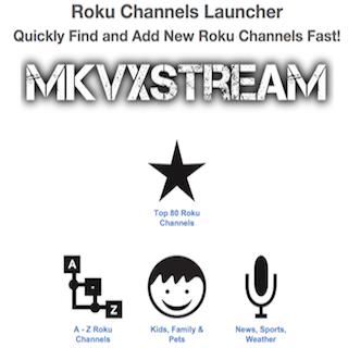 Roku Channels Launcher