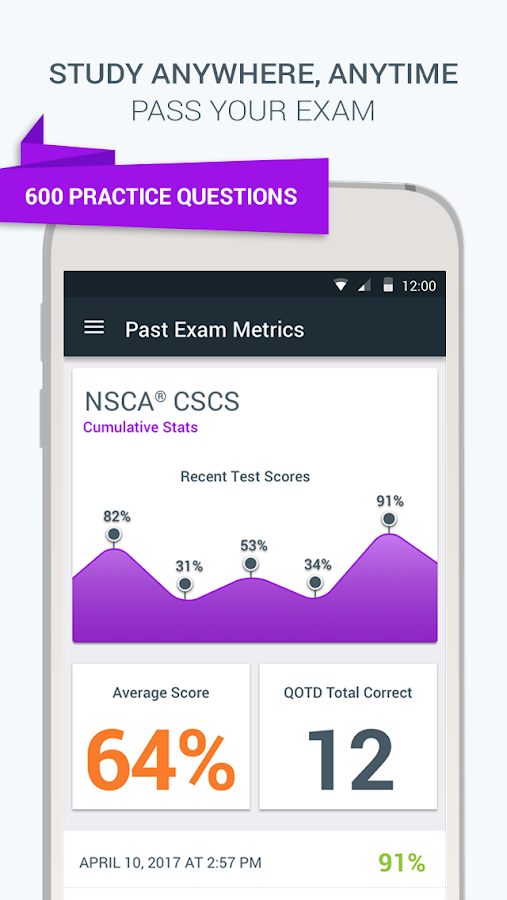 Cscs study app for android