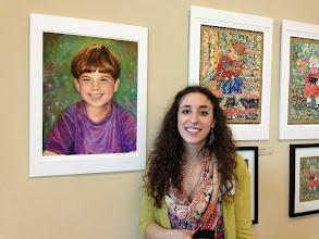 Photo: Rachel / 4-21-13 Les & Sydelle Sher Art exhibit at Weissman Ctr
