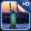 Rainy New York Live Wallpaper icon