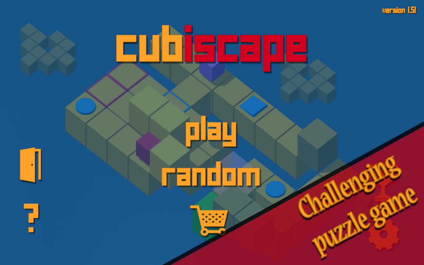 Cubiscape- screenshot