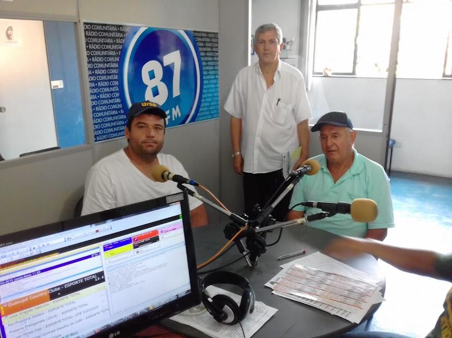 Antonio Fernando Reis, Jota Araújo e Henrique Aparecido