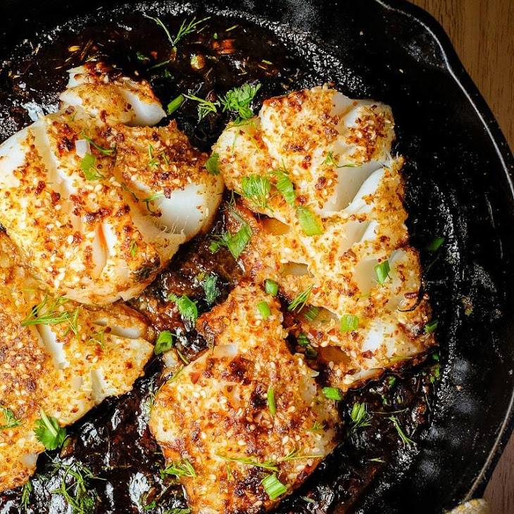 Spicy Pan Seared Fish with Tamarind Sauce Recipe