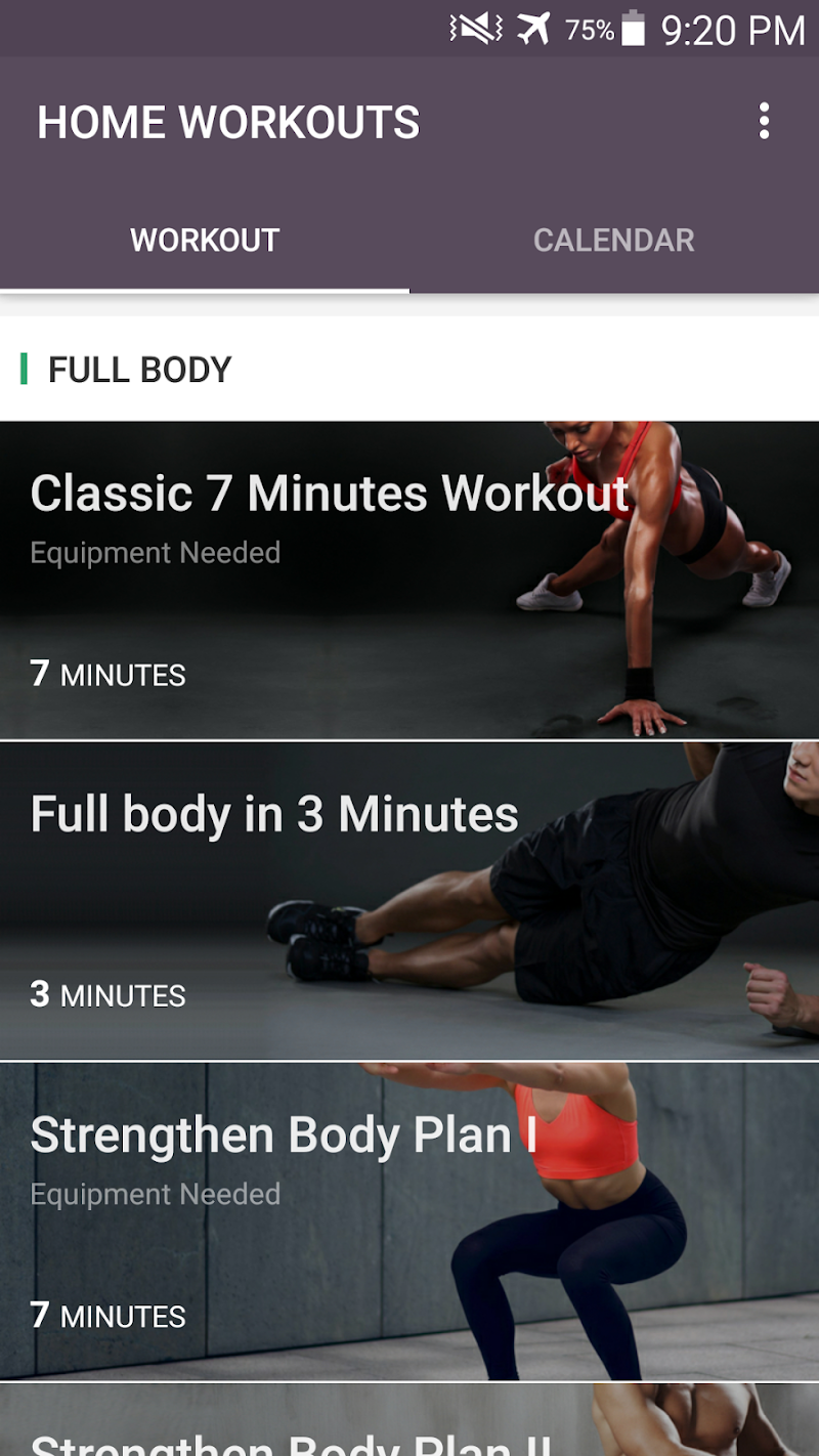 Home Workout - No Equipment & Meal Planner APK Cracked Free