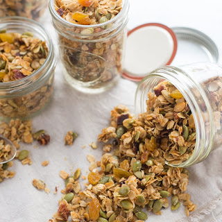 Savory Bacon-Rosemary Granola