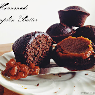 Pumpkin Butter & Brownie Cupcakes