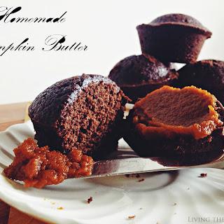 Pumpkin Butter & Brownie Cupcakes