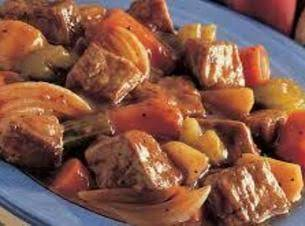 Lick The Plate Clean Beef (or Pork!) Stew Recipe