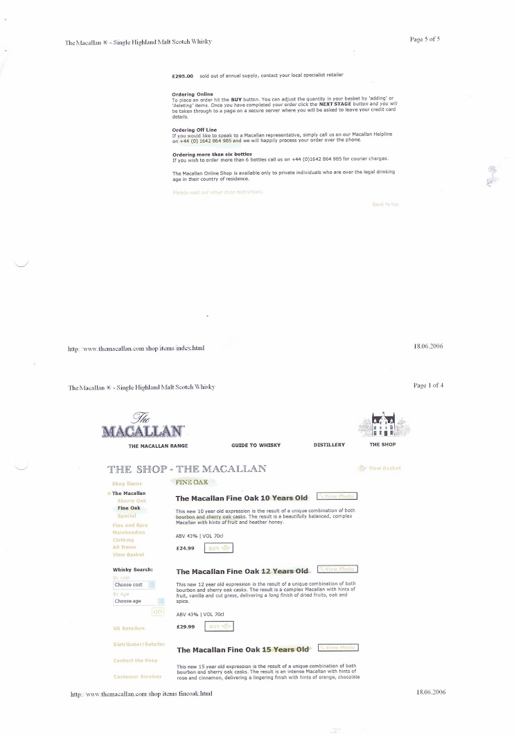 Macallan Webshop 2006 - Page 3