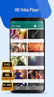 Video Player HD All Format - Free Music Player App Screenshot