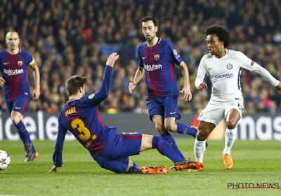 Chelsea refuse des offres de 40 millions d'euros du Barça et de l'Atlético pour Willian