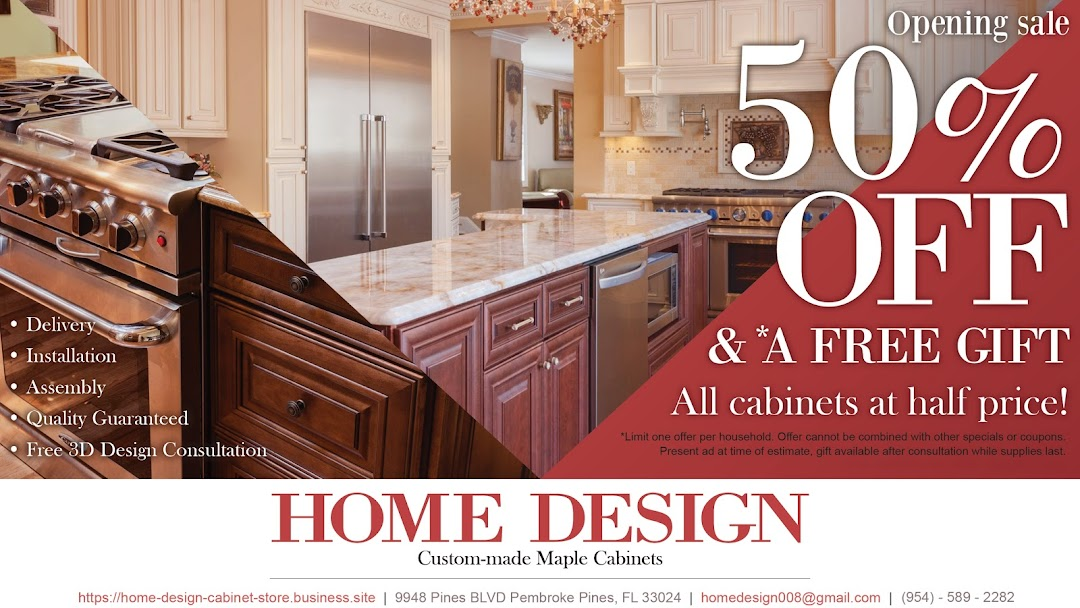 Home Design Cabinet In Pembroke Pines