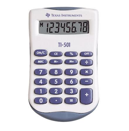 Räknare Texas TI-501