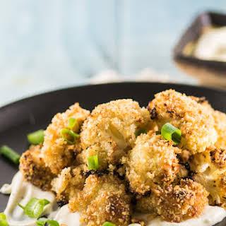 Roasted Miso Glazed Cauliflower.