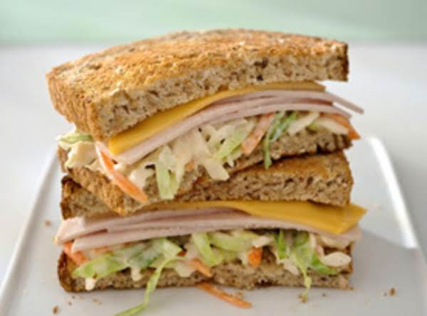 He Came & He Slaw Sandwhich Recipe