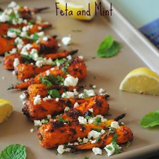 Roasted Carrots Mint Recipes