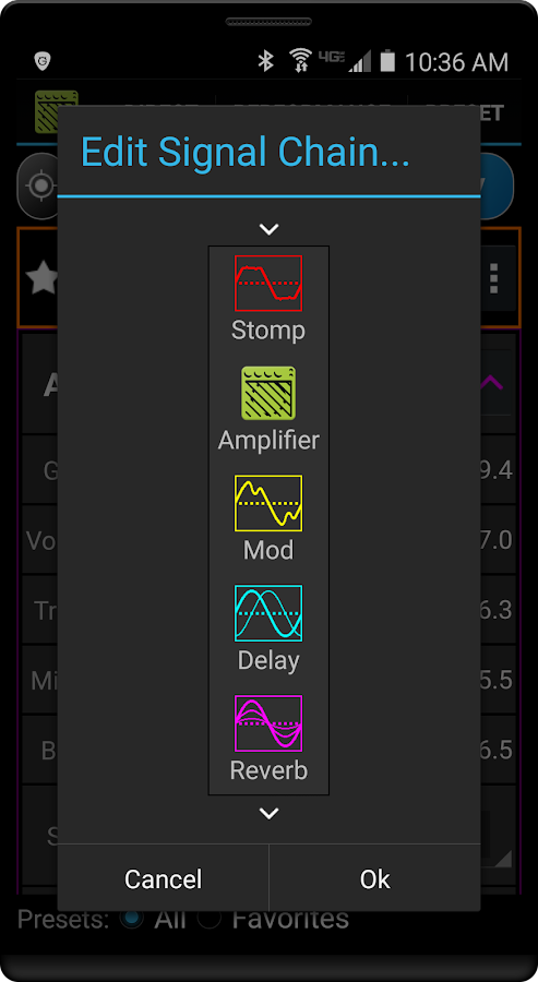 remuda usb guitar amplifier control app android apps on google play. Black Bedroom Furniture Sets. Home Design Ideas