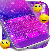 Glitter Keyboard Theme